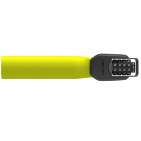 Hiplok Spin Chain Lock 6mm neon yellow